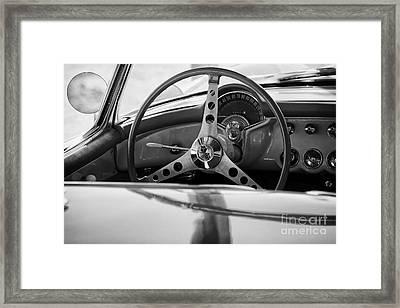 Steering Wheel Ll Framed Print