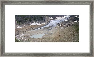 Stein Glacier, Switzerland Framed Print