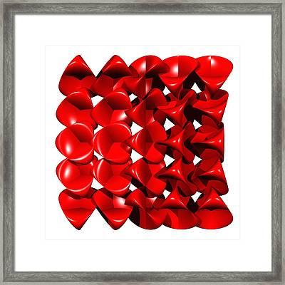 Steiner Surfaces Framed Print by Miroslav Skaloud