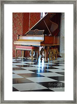 Steinway Framed Print by Robert Meanor