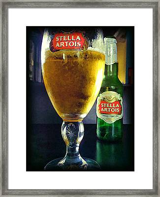 Stella  Framed Print by Steven Richardson