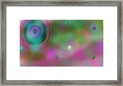 Stellar Evolution Framed Print by Rosana Ortiz