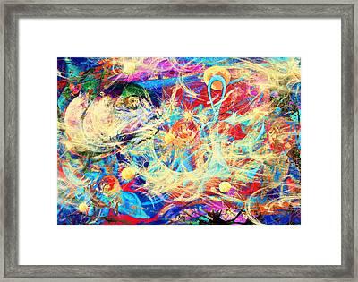 Stellar Wind Framed Print