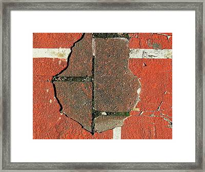 Step Back In Time Framed Print by Bruce Carpenter