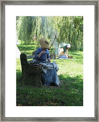 Step Back In Time Framed Print by Sheila Rodgers