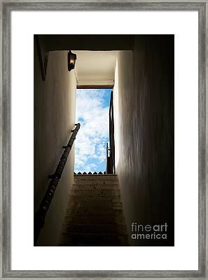 Step Framed Print by Odon Czintos
