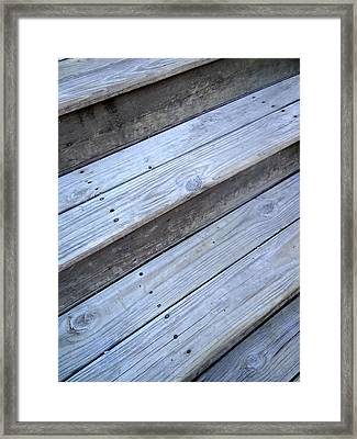 Step Up Framed Print