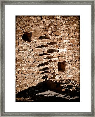 Step Wall Framed Print