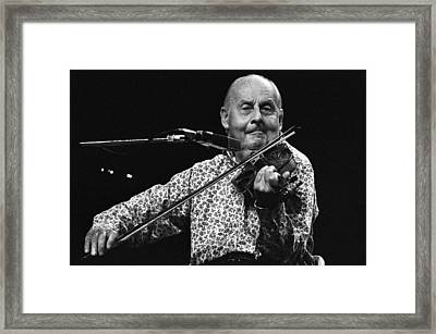 Stephane Grappelli 1 Framed Print