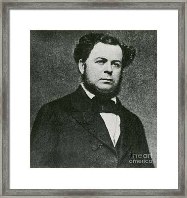 Stephen Mallory Framed Print by Photo Researchers