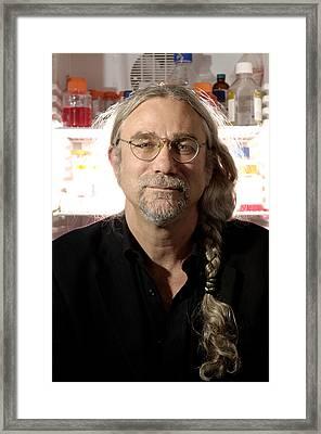 Stephen Minger, Stem Cell Researcher Framed Print by Volker Steger