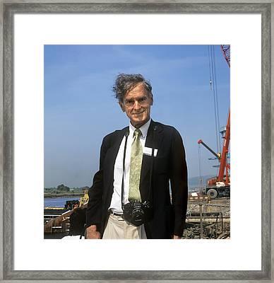Stephen Salter, South African Engineer Framed Print by Martin Bond