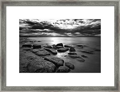 Stepping Stones II Framed Print