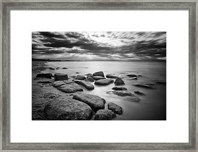 Stepping Stones Iv Framed Print