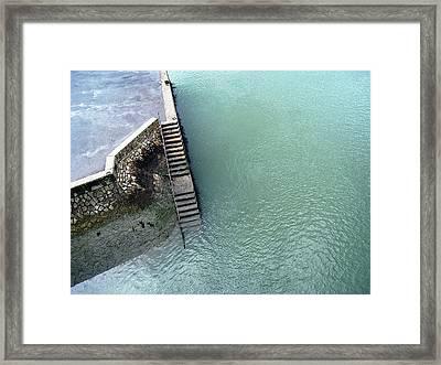 Steps Framed Print by Ben Jones