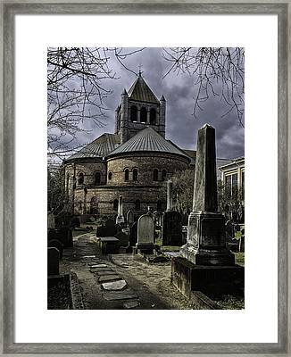 Steps In Time Framed Print by Lynn Palmer