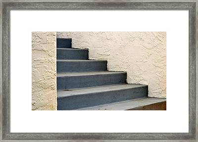 Steps Framed Print by Rima Biswas