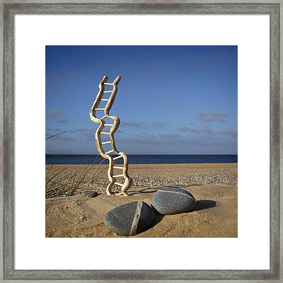 Steps To Heaven Framed Print
