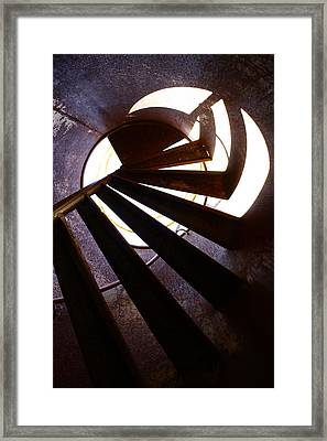 Steps Two See  Framed Print by Empty Wall
