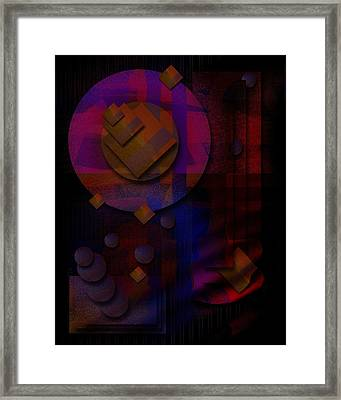 Sternschnuppen - Falling Stars Framed Print by Mimulux patricia no No