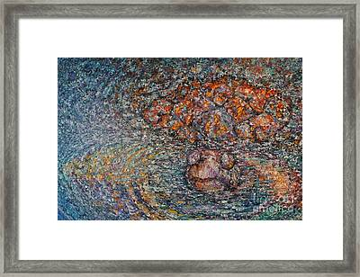 Sticking Your Neck Out  Framed Print by Sloane Keats
