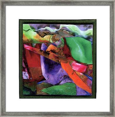 Sticks And Stones Framed Print by Seaon Ducote