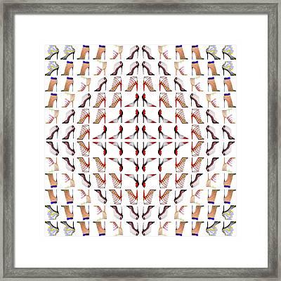 Stiletto Love Framed Print by Sumit Mehndiratta