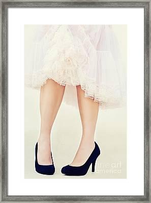 Stilettos Framed Print by Stephanie Frey