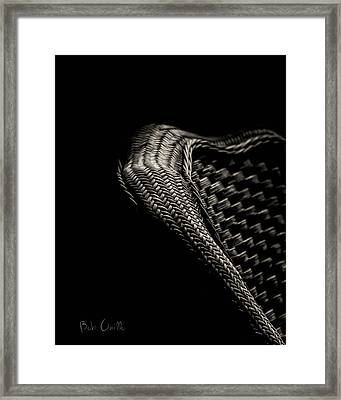 Still And Woven Framed Print