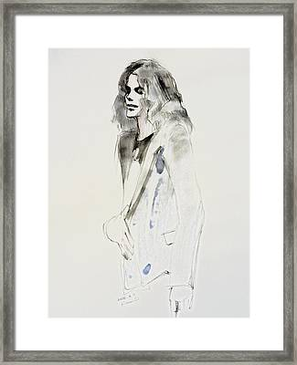 Still Framed Print by Hitomi Osanai