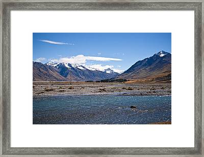 Still In Touch Framed Print by Graeme Knox