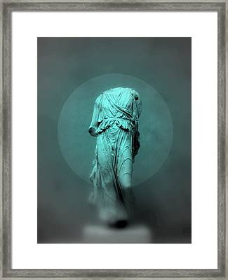 Still Life - Robed Figure Framed Print by Kathleen Grace