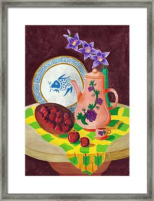 Still Life 1.0 Framed Print by Adam Wai Hou