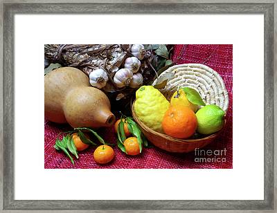Still-life Framed Print