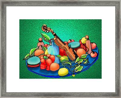 Still Life Flying Framed Print by Barbara Stirrup