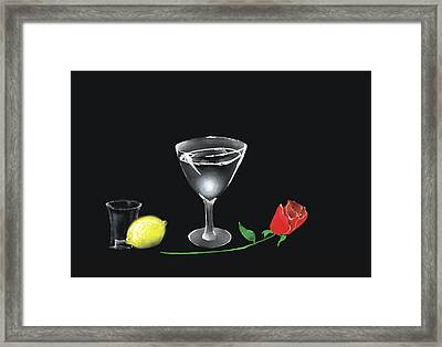 Framed Print featuring the painting Still Life by Larry Cirigliano