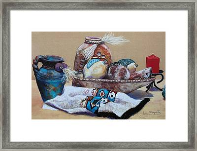 Still Life Framed Print by M Diane Bonaparte