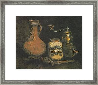 Still Life Paintings By Vincent Van Gogh Framed Print by Van Gogh
