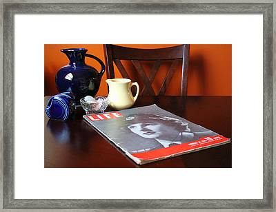 Still Life Framed Print by Peter Chilelli