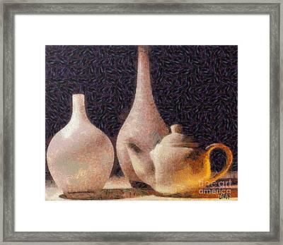 Still Life- Vases Framed Print