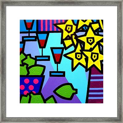 Still Life With Limes Framed Print