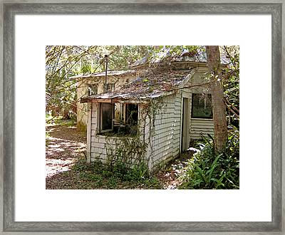 Framed Print featuring the photograph Still Standing by Lou Belcher