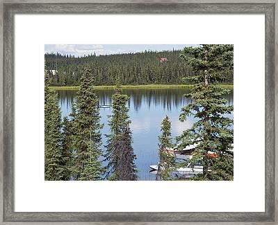 Still Water Framed Print by George Hawkins