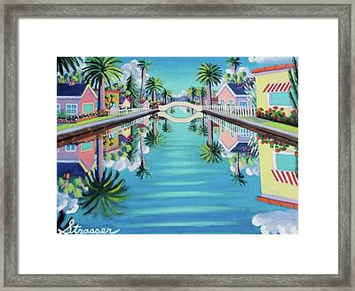 Still Waters Framed Print by Frank Strasser