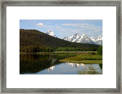 Framed Print featuring the photograph Still Waters by Living Color Photography Lorraine Lynch