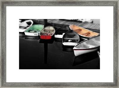 Still Waters Framed Print by Thomas Schoeller