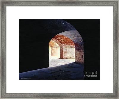 Stillness Framed Print by Lynette Cook