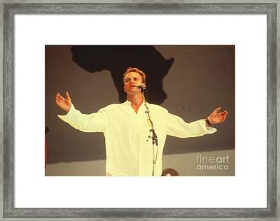 Sting Framed Print by David Plastik