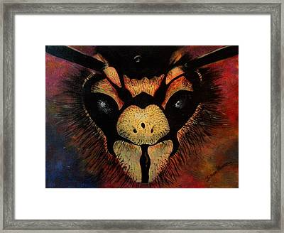 Sting Framed Print by Sarah Farren
