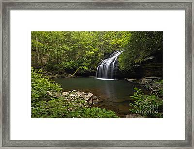 Stinging Fork Falls - D005706 Framed Print